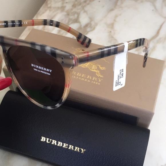 965e2e340bd6 ❤️Burberry Unisex Sunglasses Nova Plaid Check RARE